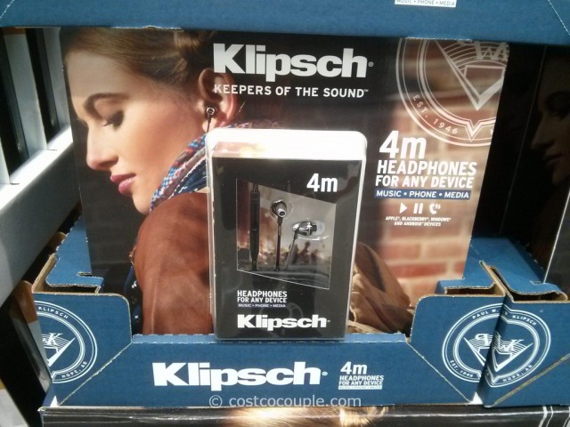 Klipsch M4 Universal In Ear Headphones Costco 3