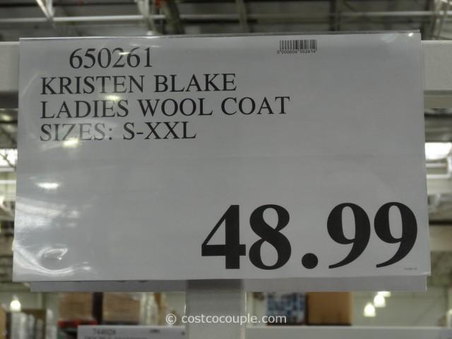 Kristen Blake Ladies Wool Coat Costco 5