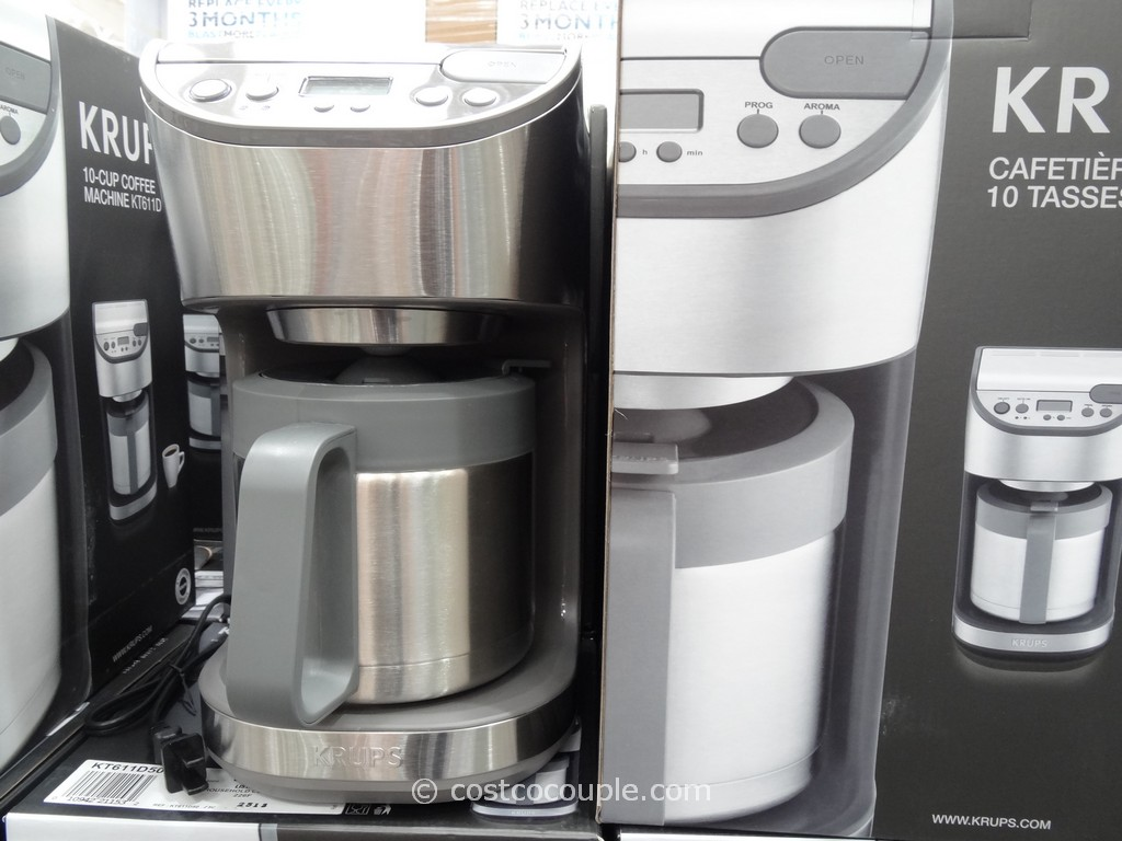 Krups Thermal Carafe Coffee Maker Costco 1