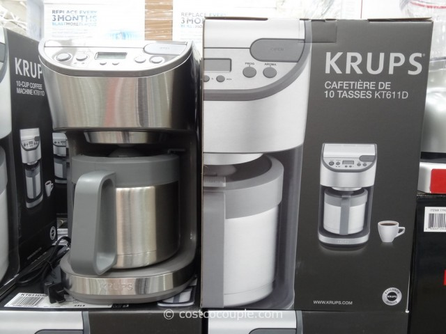 Krups Thermal Carafe Coffee Maker Costco 3