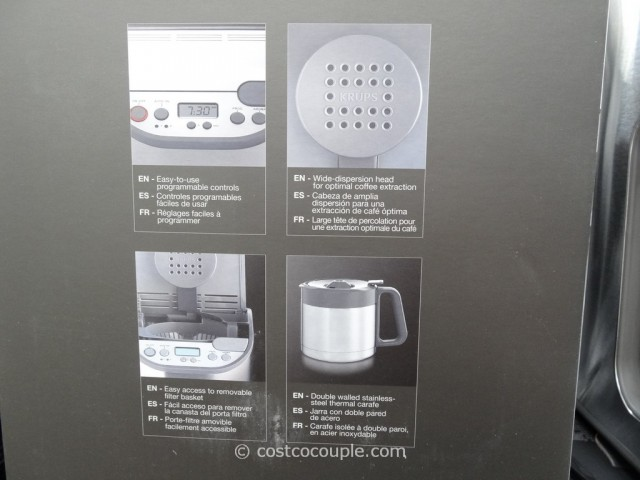Krups Thermal Carafe Coffee Maker Costco 4