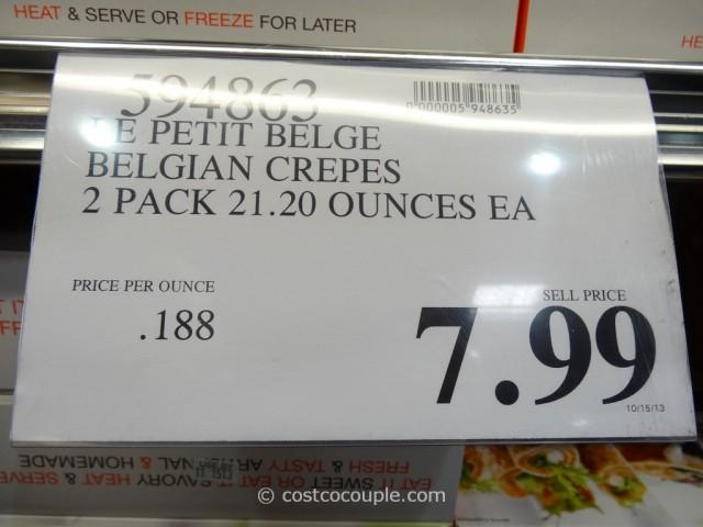 La Creperie Real Belgian Crepes Costco 1