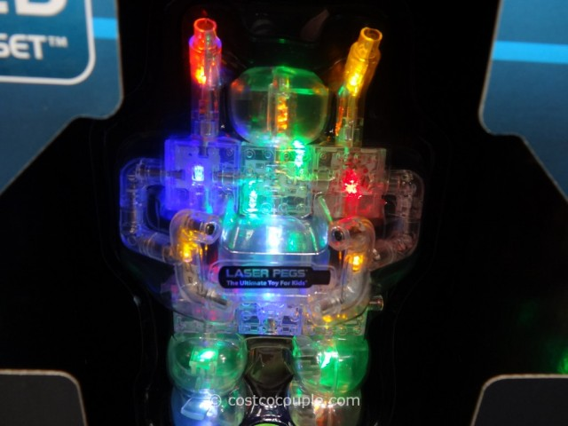 Laser Pegs Lighted Construction Set Costco 5