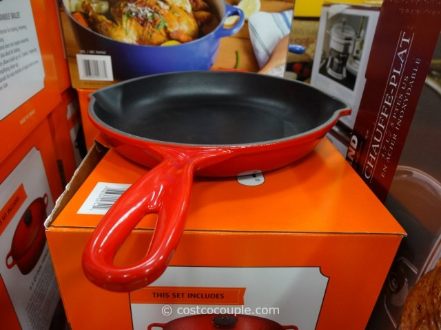 Le Creuset Oval French Oven and Skillet Set Costco 3