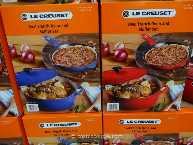 Le Creuset Oval French Oven and Skillet Set Costco 5