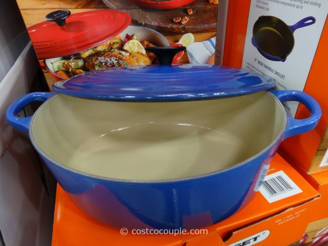 Le Creuset Oval French Oven and Skillet Set Costco 6