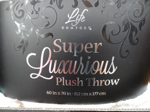 Life Comfort Super Luxurious Plush Throw Costco 3