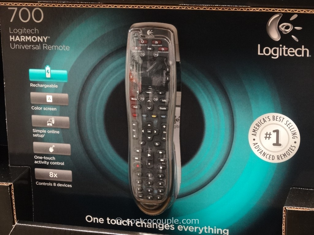 Logitech Harmony 700 Universal Remote Costco 1