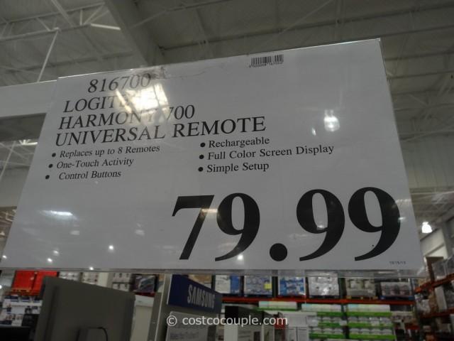 Logitech Harmony 700 Universal Remote Costco 3