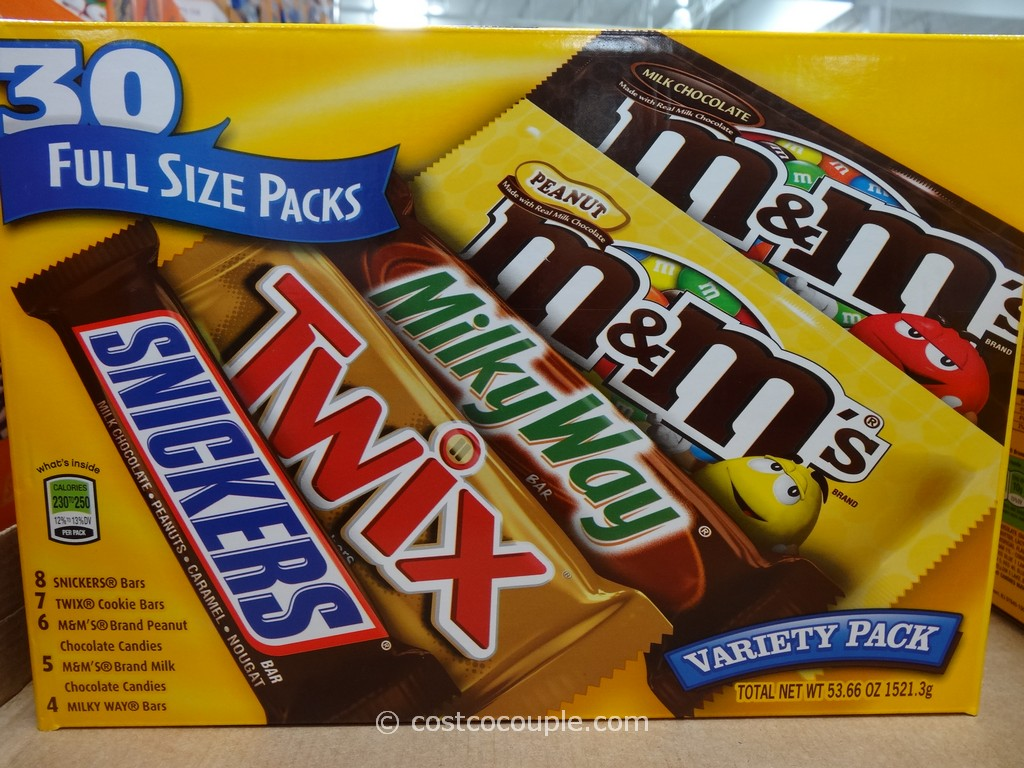 M&M Mars Chocolate Variety Costco 1