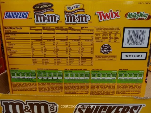 M&M Mars Chocolate Variety Costco 2