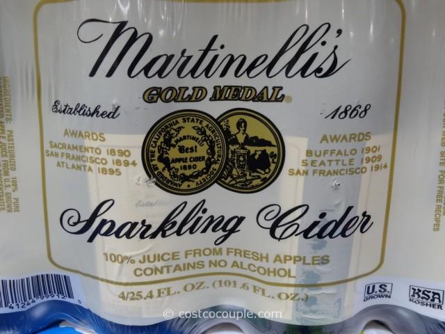 Martinelli Sparkling Cider Costco 3