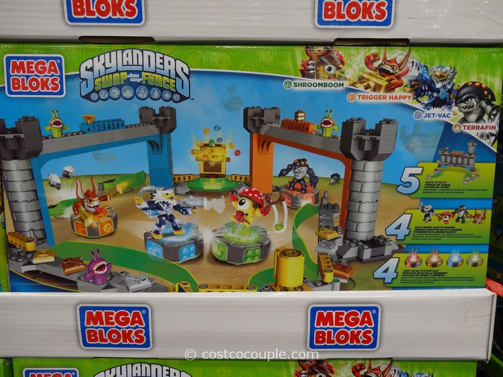 Mega brands Skylanders Swap Force Super Set Costco 4