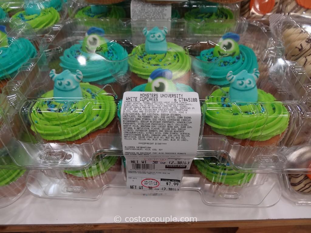 Monsters University White Cupcakes Costco 1