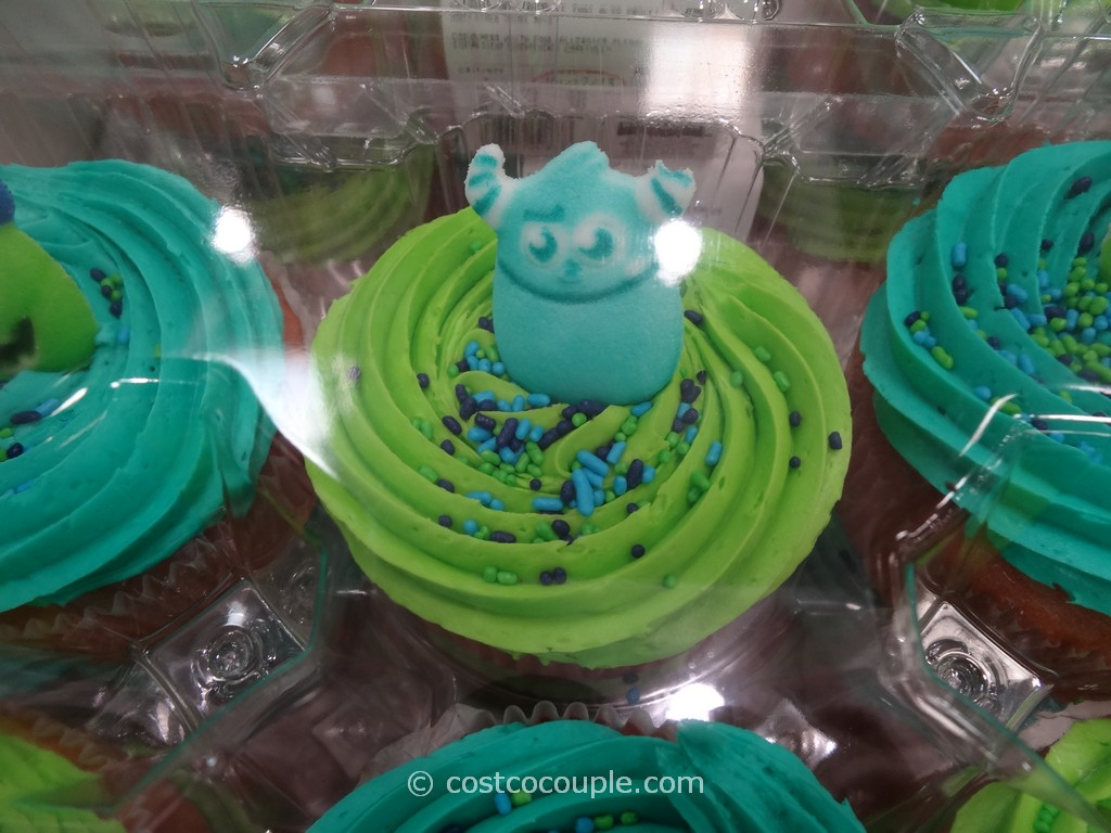 Car Battery Costco >> Monsters University White Cupcakes