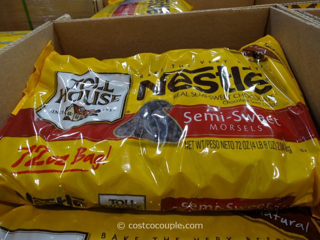 Nestle Tollhouse Semi-Sweet Morsels Costco 1
