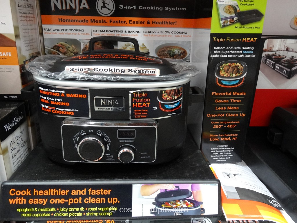 Ninja Professional 3-In-1 Cooking System Costco 1