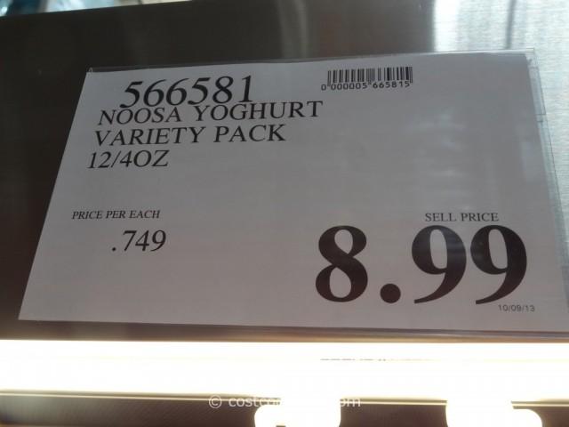 Noosa Yoghurt Variety Pack Costco 3
