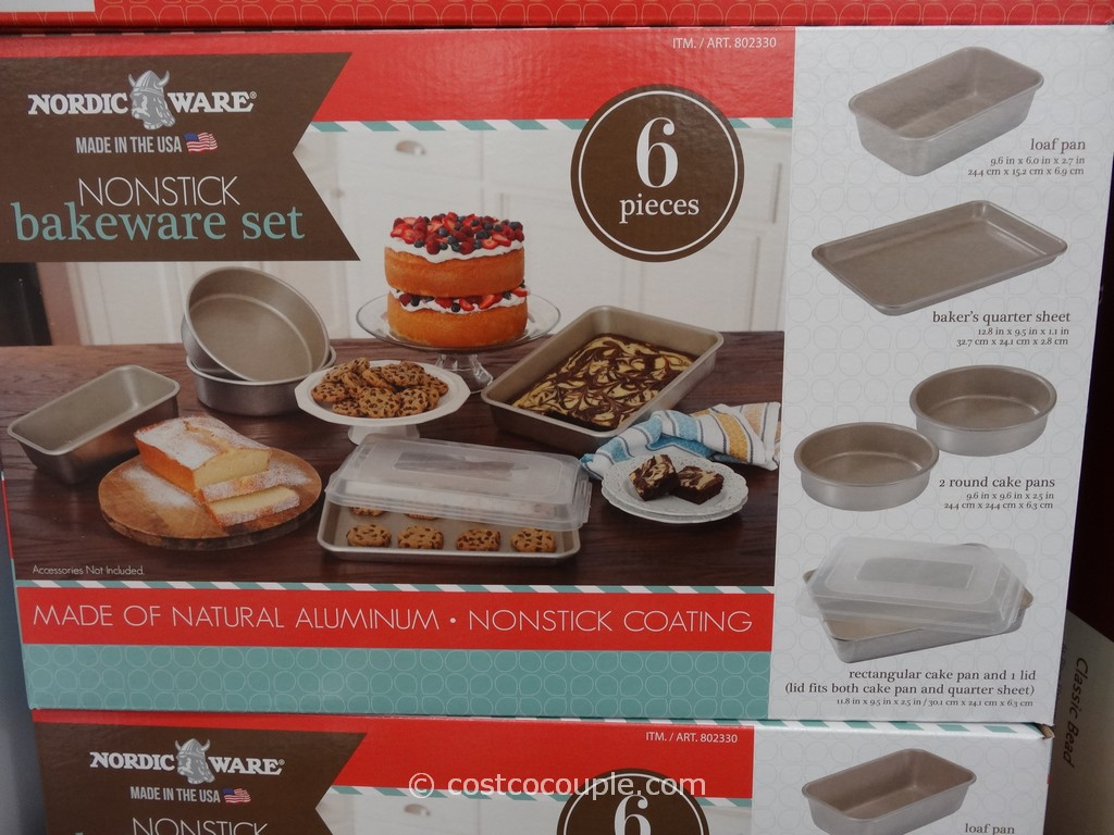 Nordic Ware Nonstick Bakeware Set Costco 1