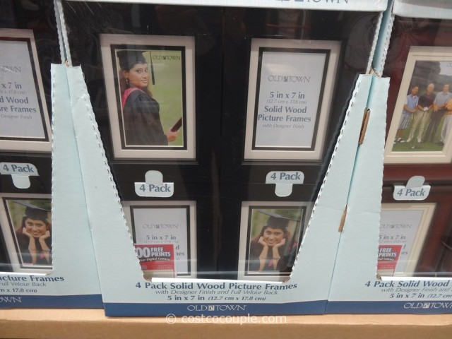 Old Town 5 x 7 Solid Wood Photo Frames Costco 1
