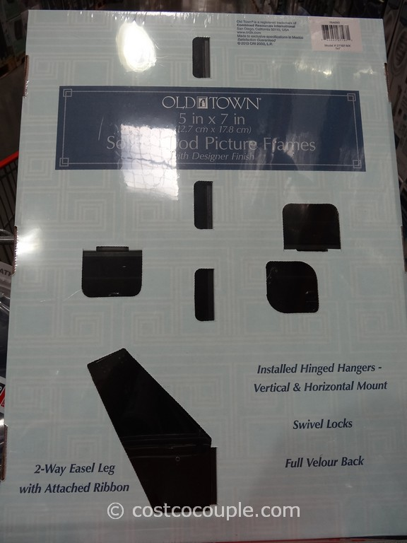 old town 5 x 7 solid wood photo frames costco 2