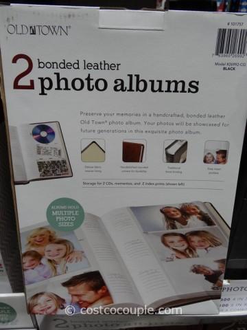 Old Town Bonded Leather Photo Album Costco 2