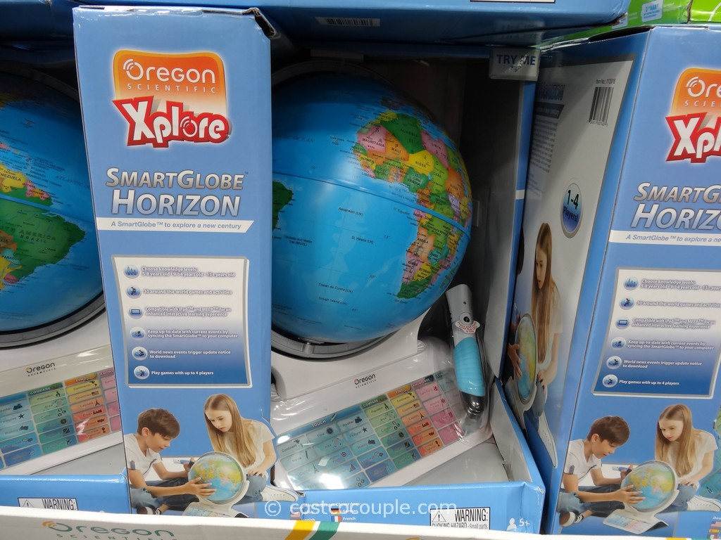 Oregon Scientific Horizon Interactive Globe Costco 4