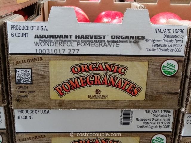 Organic Pomegranate Costco 1