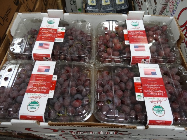 Organic Red Seedless Grapes Costco 1