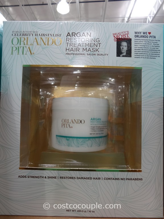 Orlando Pita Argan Restoring Treatment Hair Mask Costco 2