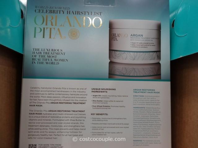 Orlando Pita Argan Restoring Treatment Hair Mask Costco 3