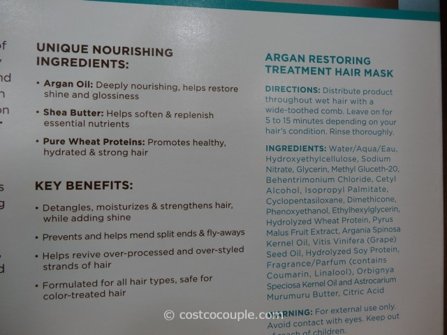 Orlando Pita Argan Restoring Treatment Hair Mask Costco 5