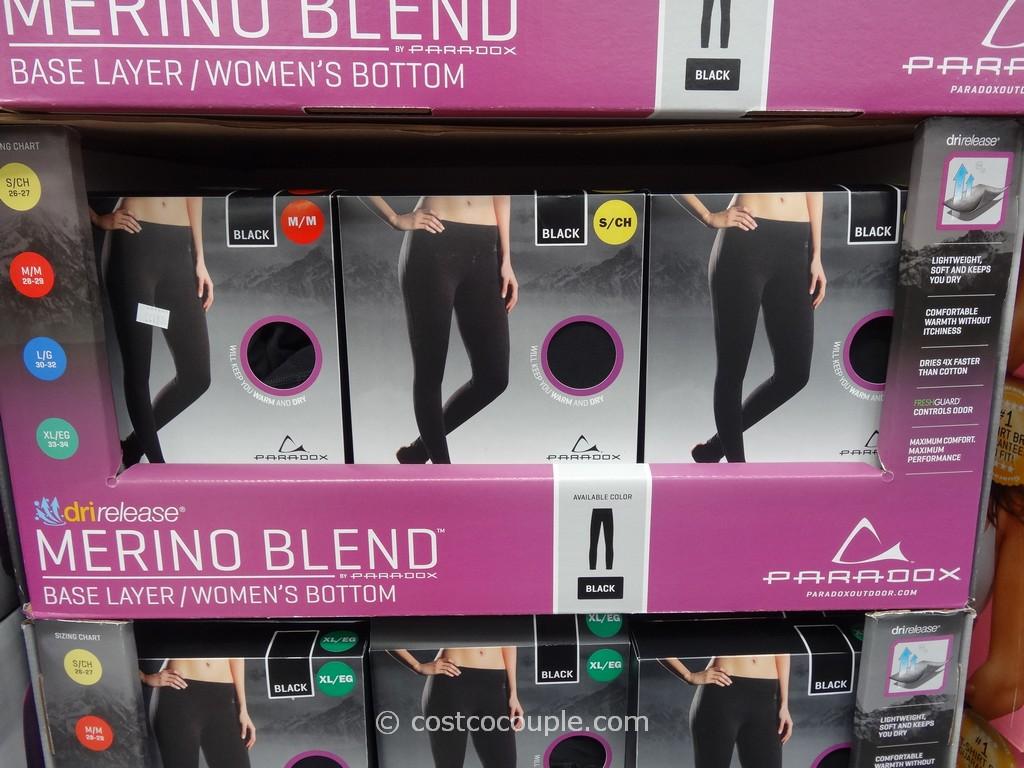 Paradox Ladies Merino Wool Blend Base Layer Costco 1