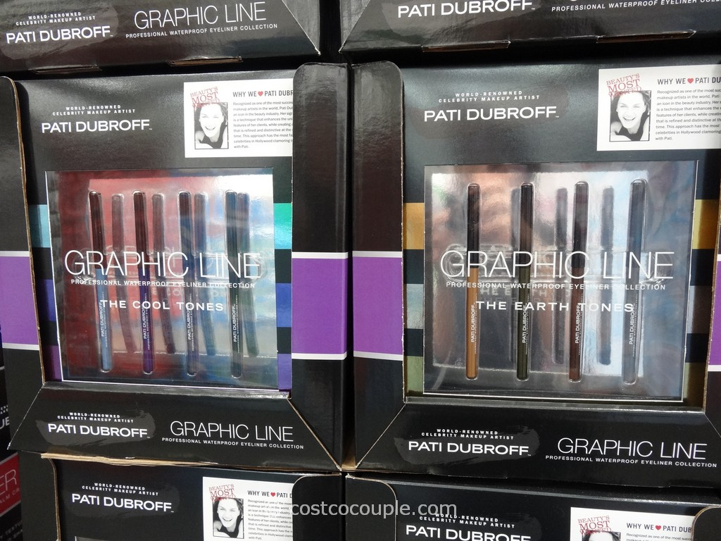 Pati Dubroff Graphic Line Waterproof Eyeliner Collection Costco 1
