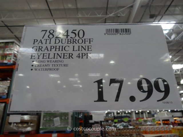 Pati Dubroff Graphic Line Waterproof Eyeliner Collection Costco 2