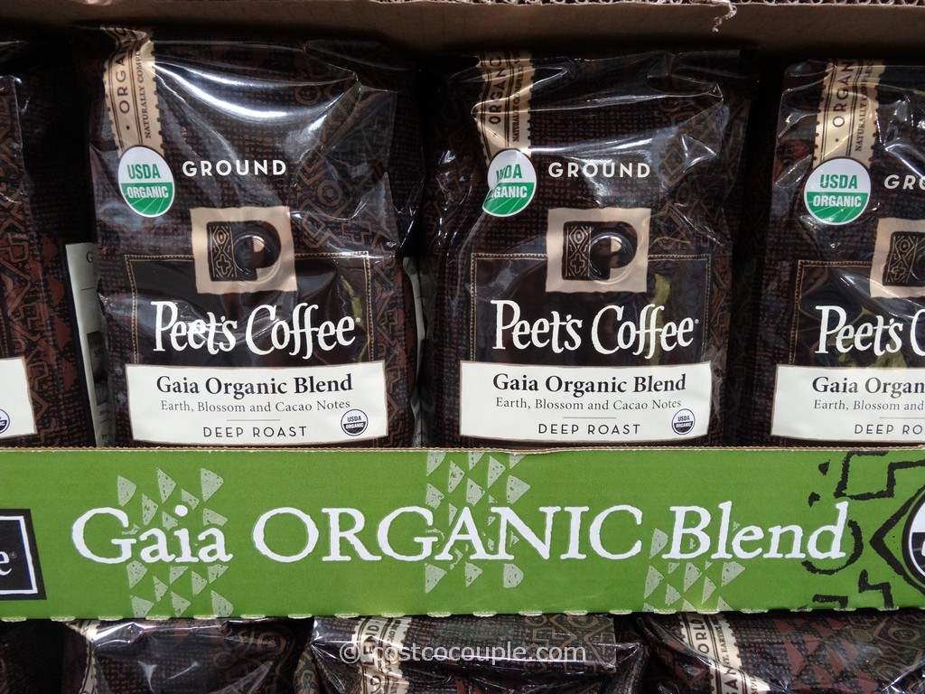 Peets Coffee Gaia Organic Blend Costco 1