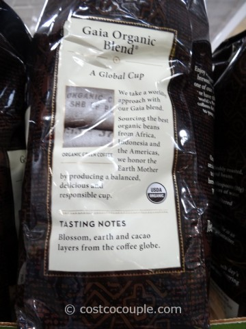 Peets Coffee Gaia Organic Blend Costco 2