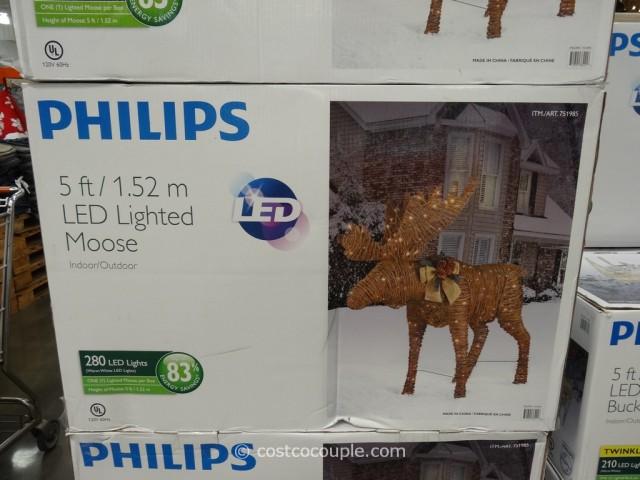 Philips 60-Inch Grapevine Moose Costco 5