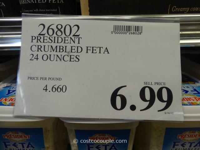 President Crumbled Feta Costco 1
