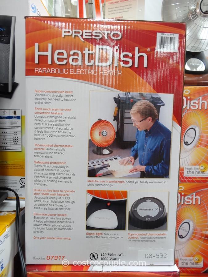 Presto Heatdish Parabolic Heater