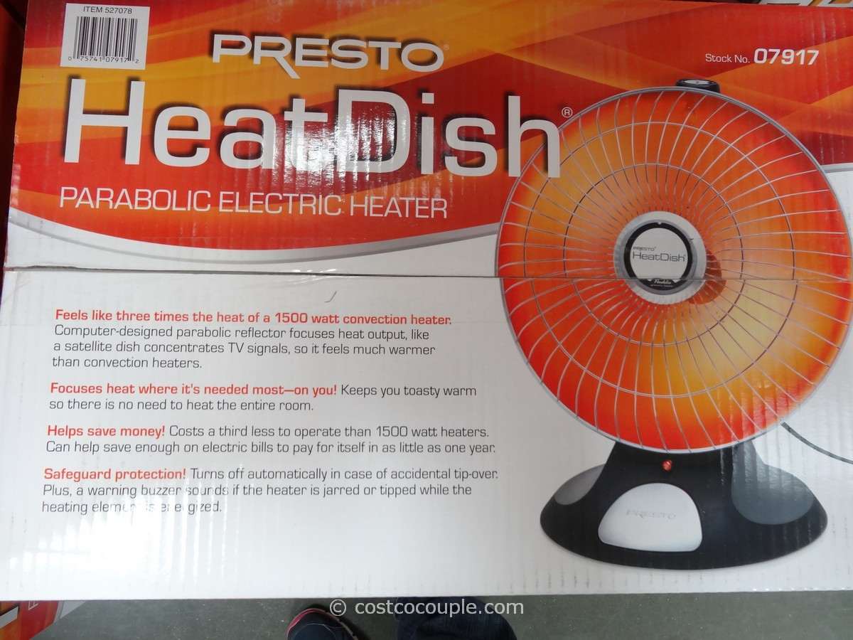 Presto Heatdish Parabolic Heater