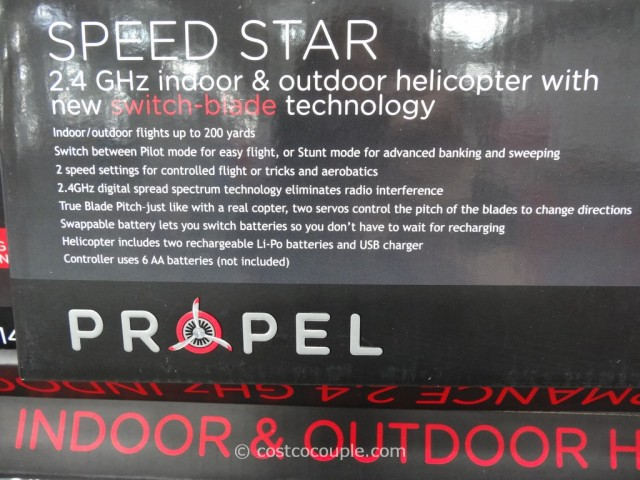 Propel Speed Star Helicopter Costco 2