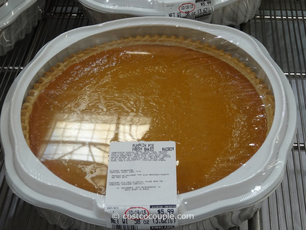 Pumpkin Pie Costco 3