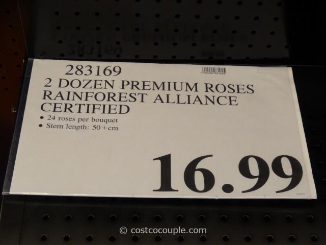 Rainforest Alliance Certified 2 Dozen Premium Roses Costco 1