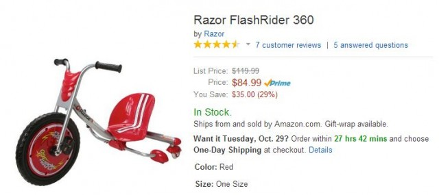 Razor Flash Rider 360 Amazon