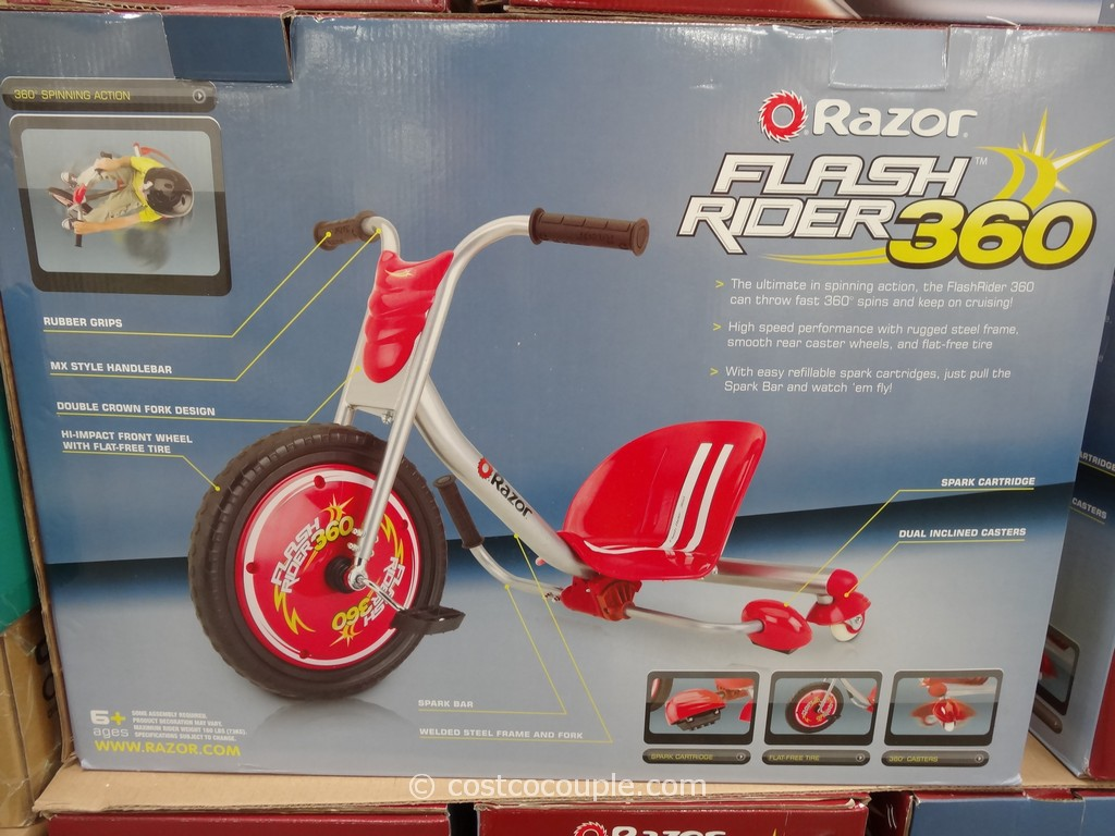 Razor Flashrider 360 Costco 5