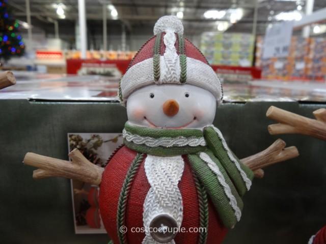 Resin Snowman Family Costco 6