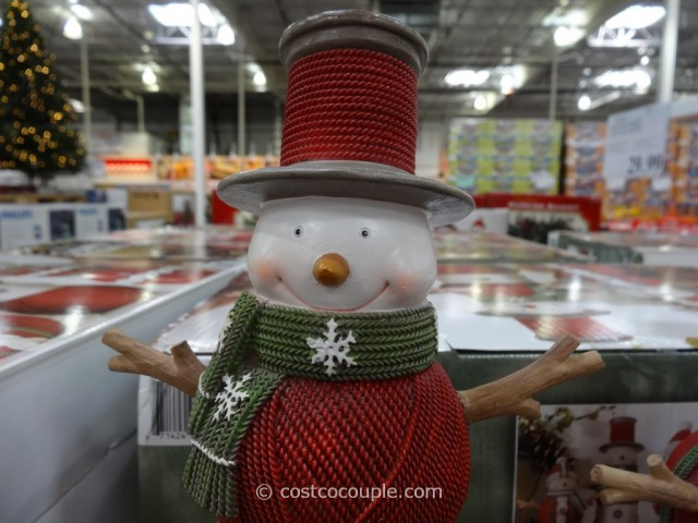 Resin Snowman Family Costco 7