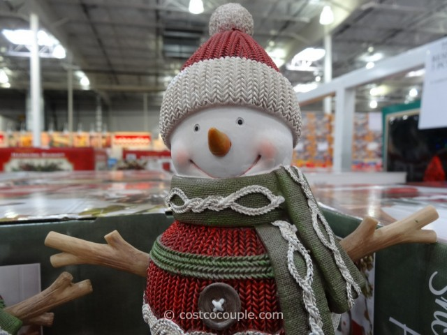 Resin Snowman Family Costco 8