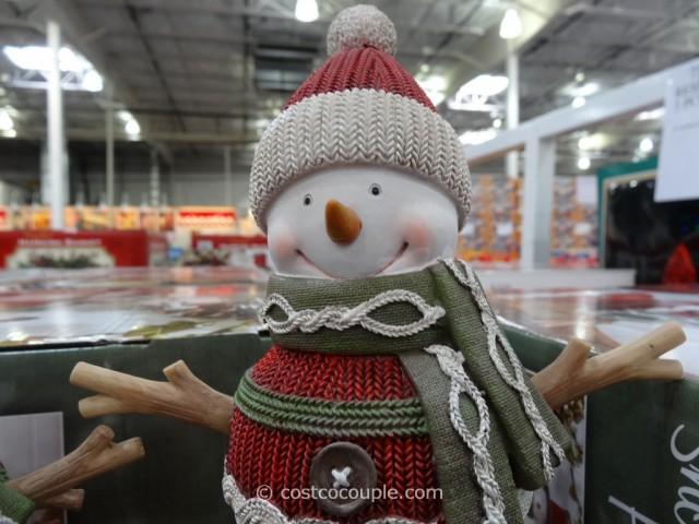 Resin Snowman Family Costco 8